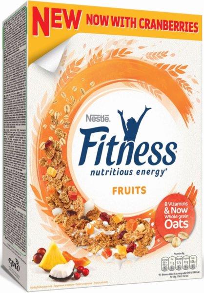 Зърнена закуска Nestle Fitness с плодове 375гр
