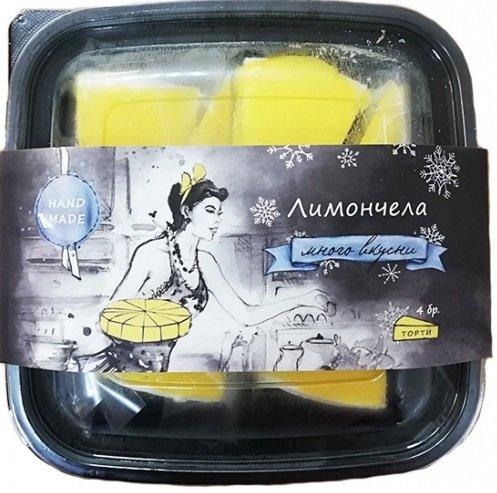 Сладоледена торта Arcobaleno Лимончела 4 парчета