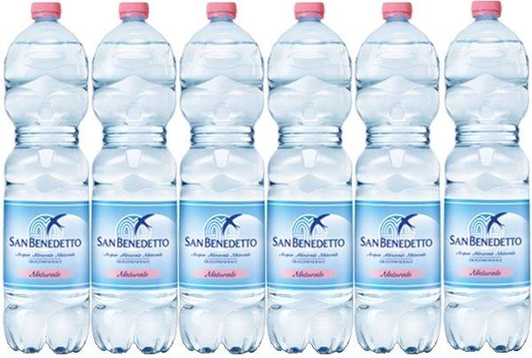 Натурална вода San Benedetto 6бр х 1.5л