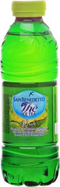 Студен  чай  San Benedetto зелен с алое вера  500мл