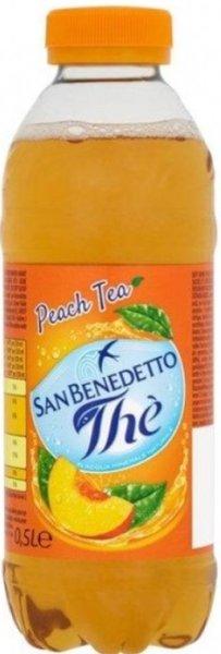 Студен чай San Benedetto праскова 500мл