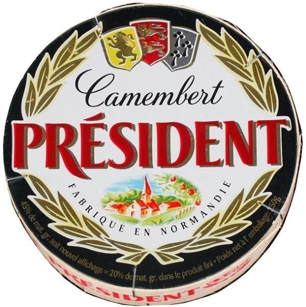 Меко сирене Камембер President 250 г