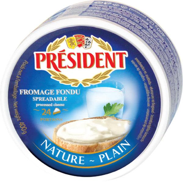 Топено сирене President 400гр