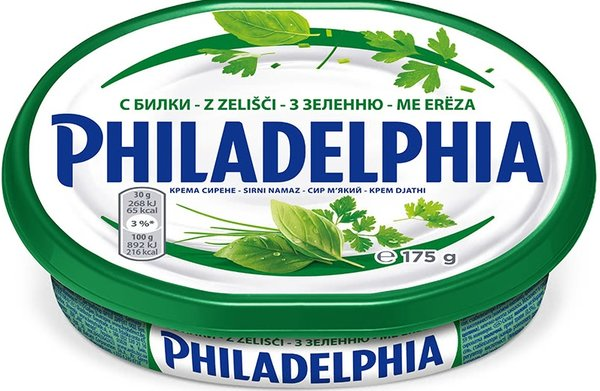 Крем сирене Philadelphia с подправки 175гр