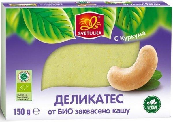 Веган деликатес от БИО заквасено кашу Svetulka 150гр S