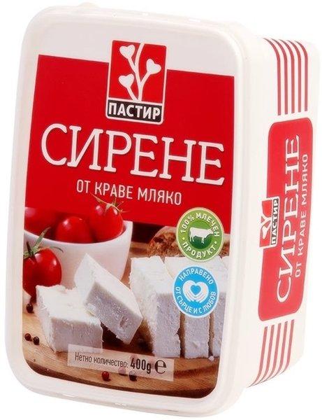 Краве сирене Пастир 400гр - кутия