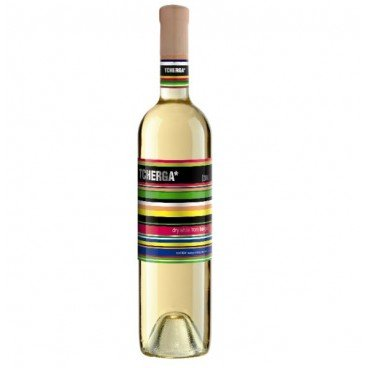 Бяло вино шардоне  Tcherga 0,75л