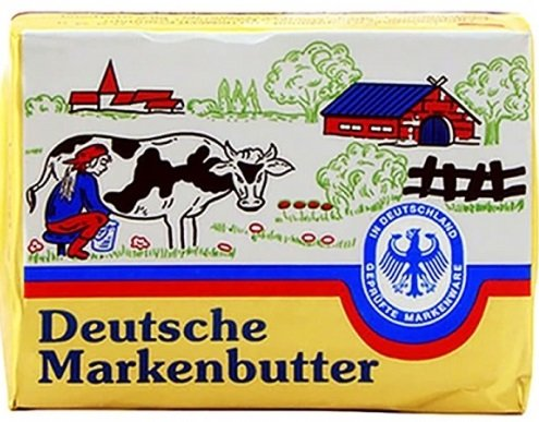 Краве масло Deutsche Markenbutter 125гр
