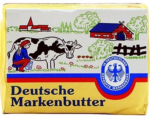 Краве масло Deutsche Markenbutter 250гр