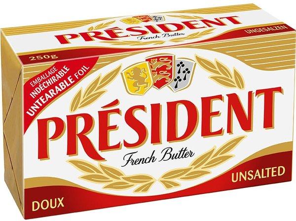 Краве масло President 250гр