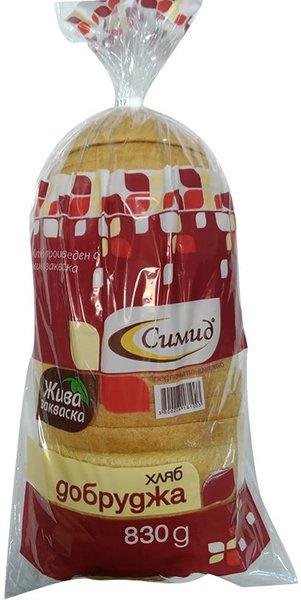 Хляб Добруджа нарязан Симид 830 г