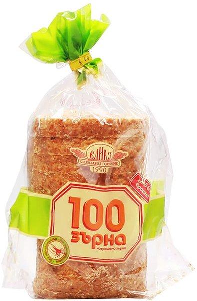 Хляб 100 зърна Елиаз 500гр