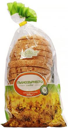 Пълнозърнесто хлебче Елиаз 300гр