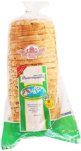 Пълнозърнест рол тост хляб Елиаз 600гр