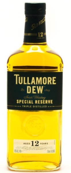 Уиски Tullamore D.E.W. Special Reserve 12год 0,7л