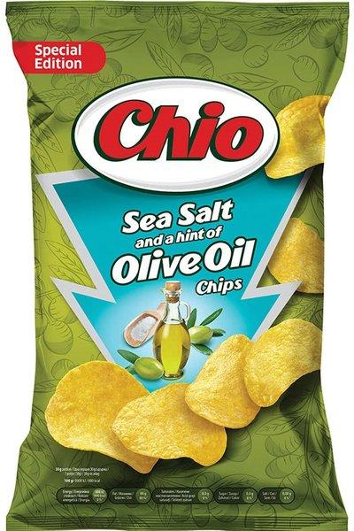 Чипс Chio с морска сол и зехтин 140гр
