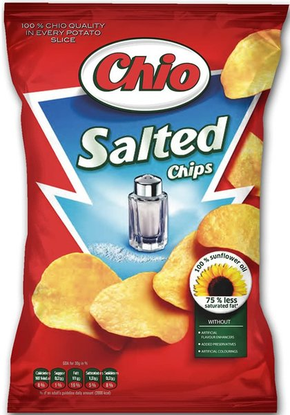 Чипс Chio със сол 140гр
