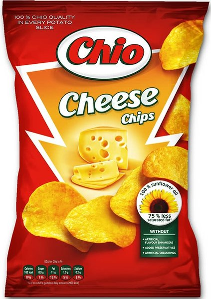 Чипс Chio със сирене 140гр