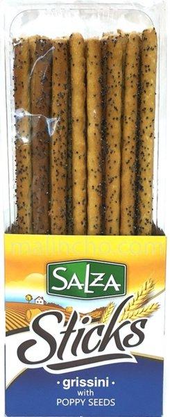 Гризини с маково семе Salza Sticks 250гр