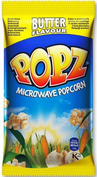 Пуканки за микровълнова с масло Popz 90гр