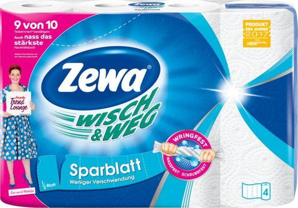 Домакински ролки Zewa Wisch & Weg Sparblatt 2пл. 4бр.