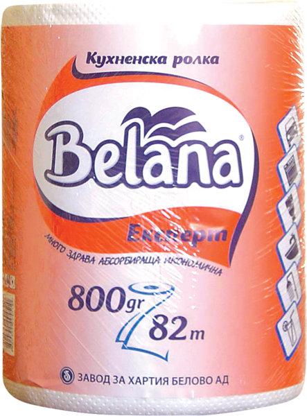 Домакинска ролка Belana Expert 800гр 82м 1бр