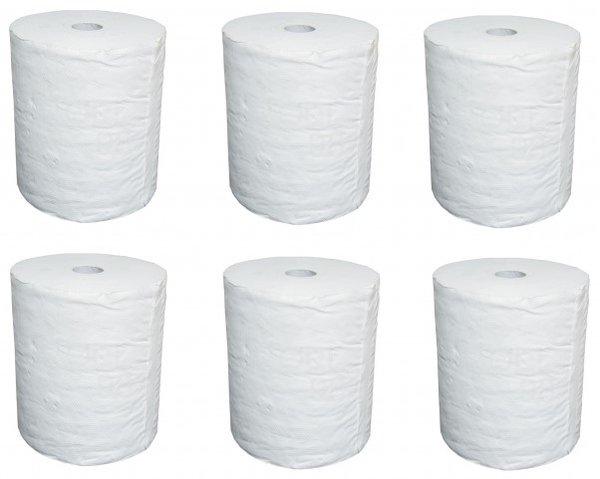 Домакински ролки Jumbo 6бр в стек рециклирана хартия