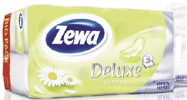 20бр Тоалетна хартия Zewa Deluxe Лайка 3 пл