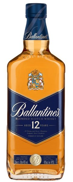 Уиски Ballantine's 12год. 0,7л-син