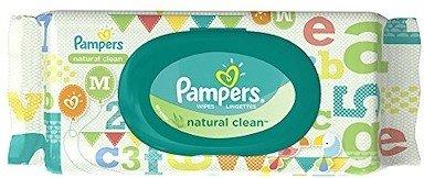 Мокри кърпички Pampers Natural Clean 64бр