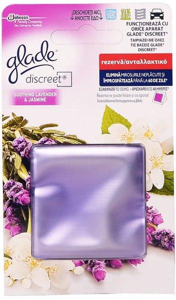 Пълнител за ароматизатор Glade Discreet Soothing Lavender & Jasmine