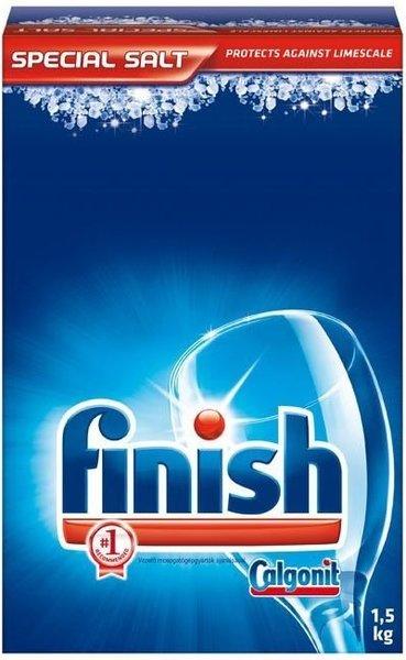Сол за съдомиялна Finish 1,5кг