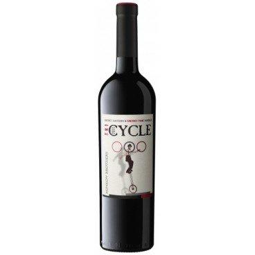 Червено вино cycle каберне совиньон,каберне фран,мерло 0,75л
