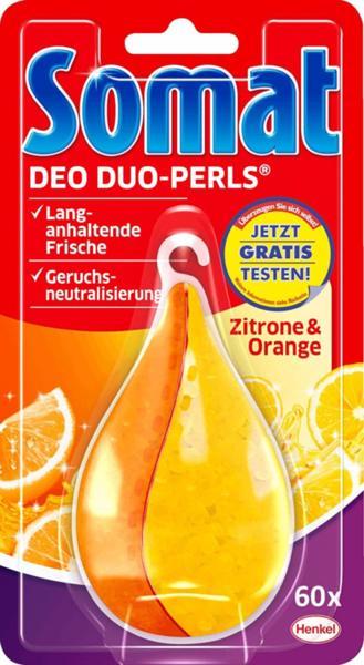 Ароматизатор за съдомиялна машина Somat лимон и портокал