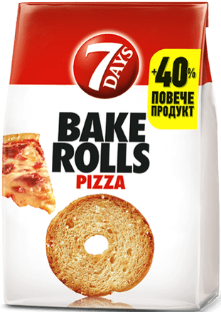 Bake Rolls 7 days пица 112гр