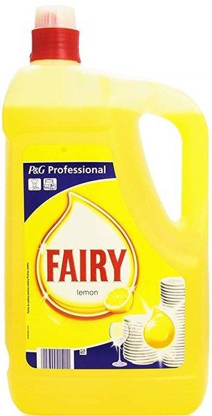 Препарат за миене на съдове Fairy 5л Лимон