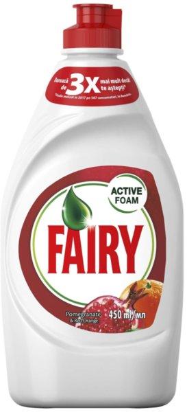 Препарат за съдове Fairy Нар и червен портокал 450мл