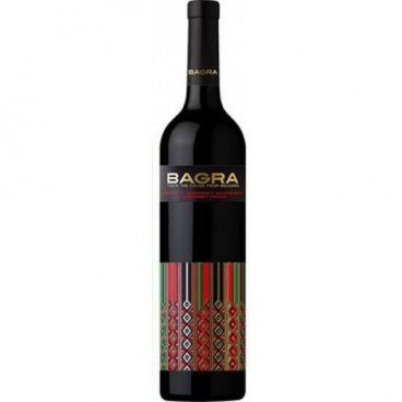 Червено вино каберне совиньон bagra 0,75л