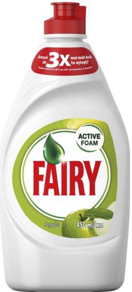 Препарат за съдове Fairy Ябълка 450мл