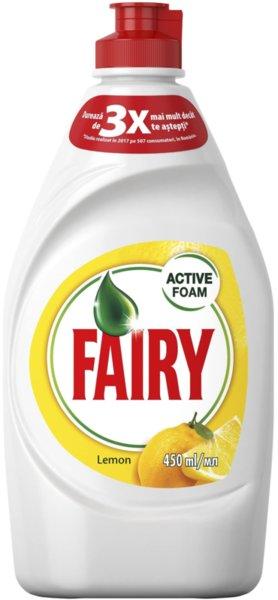 Препарат за съдове Fairy Лимон 450мл