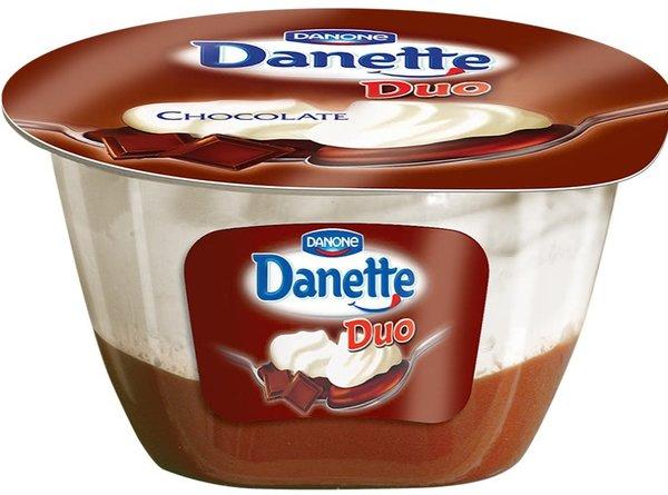 Детски крем Danette duo шоколад 115 г