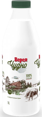 Прясно Мляко Верея Чудно 1,7%, 1 л