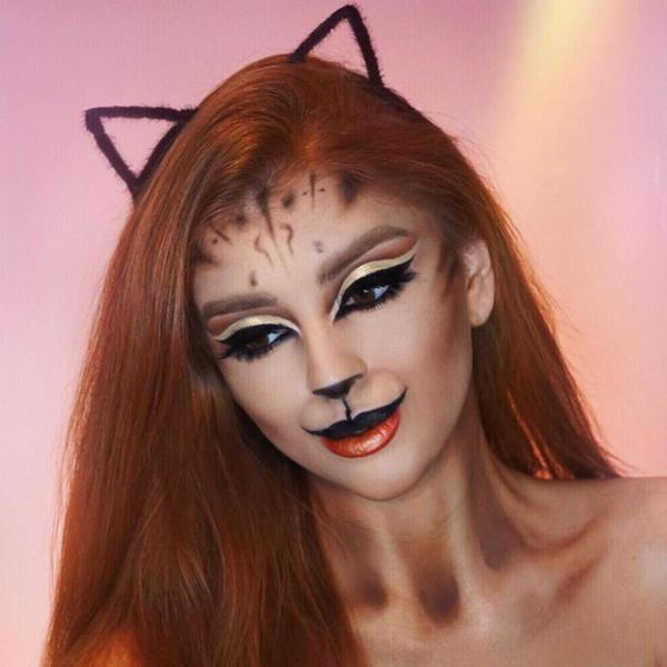 Glam Cat Makeup Tutorial with Vivienne Sabo