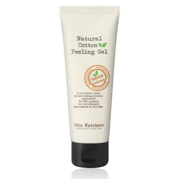 Пилинг гел за лице Skin Watchers natural cotton peeling gel