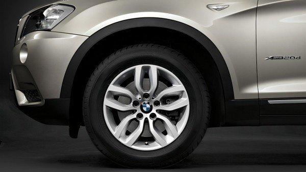 """Комплект зимни колела 17"""", BMW F25/F26"""
