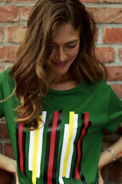 Дамска тениска MINI с ленти