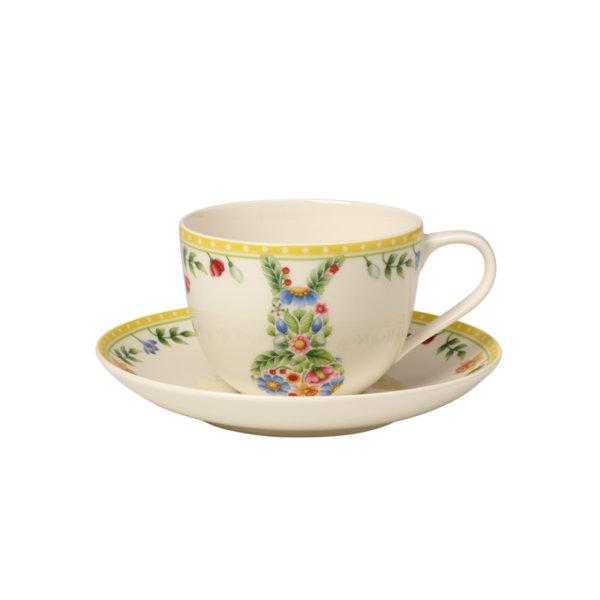 чаша и чинийка за кафе Villeroy & Boch, Spring Awakening Coffee cup Bunny