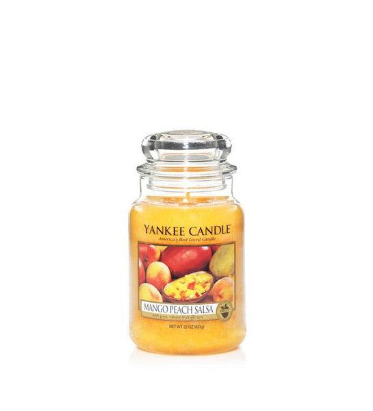 Свещ голям буркан Yankee Candle Mango Peach Salsa