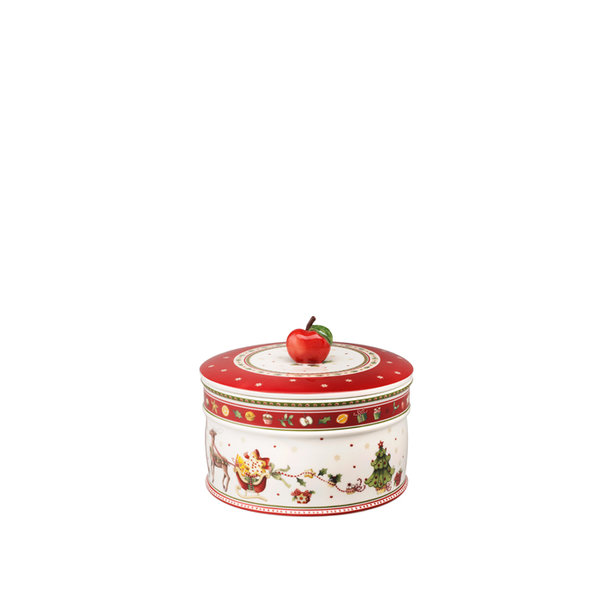 голяма кутия за сладки Villeroy & Boch, Winter Bakery Delight Pastry box, large