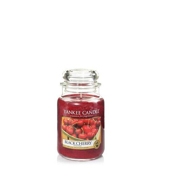 Свещ голям буркан Yankee Candle Black Cherry